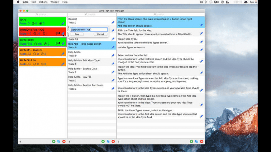 QArc for Mac - review, screenshots