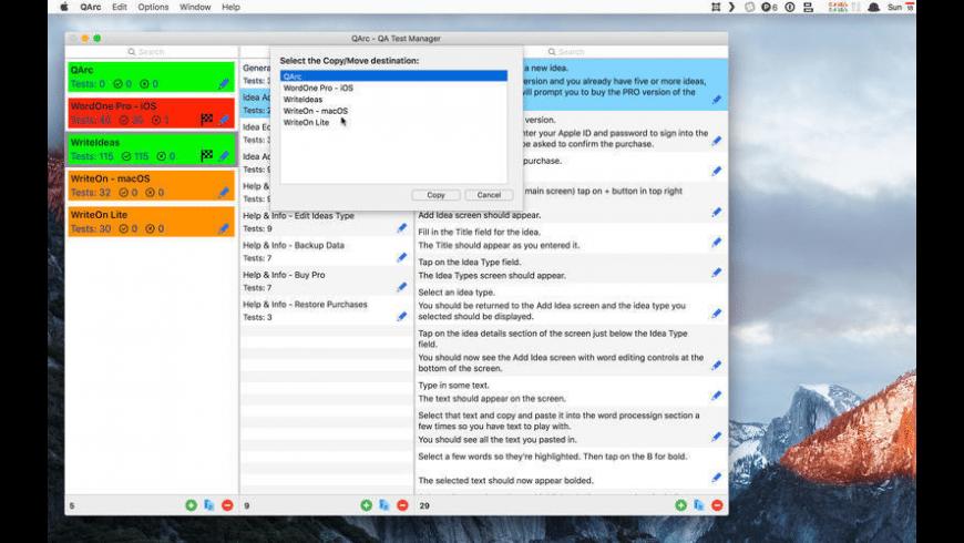 QArc for Mac - review, screenshots