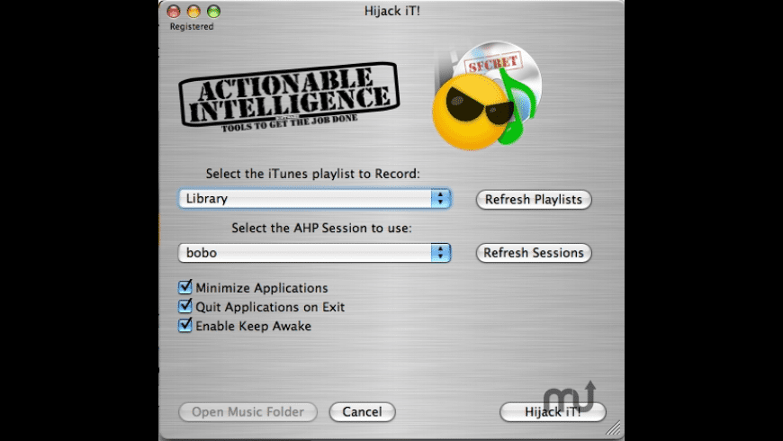 Hijack iT! for Mac - review, screenshots