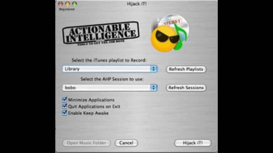 Hijack iT! for Mac - review, screenshots