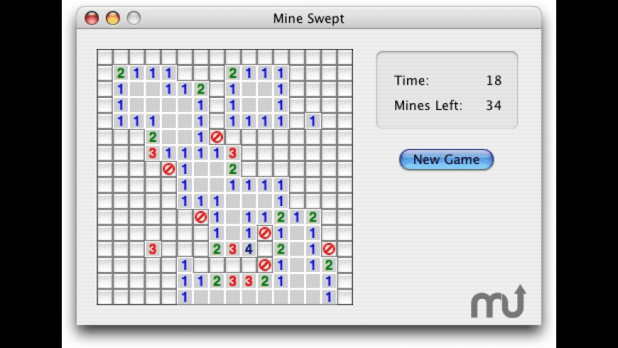 Mine Swept for Mac - review, screenshots