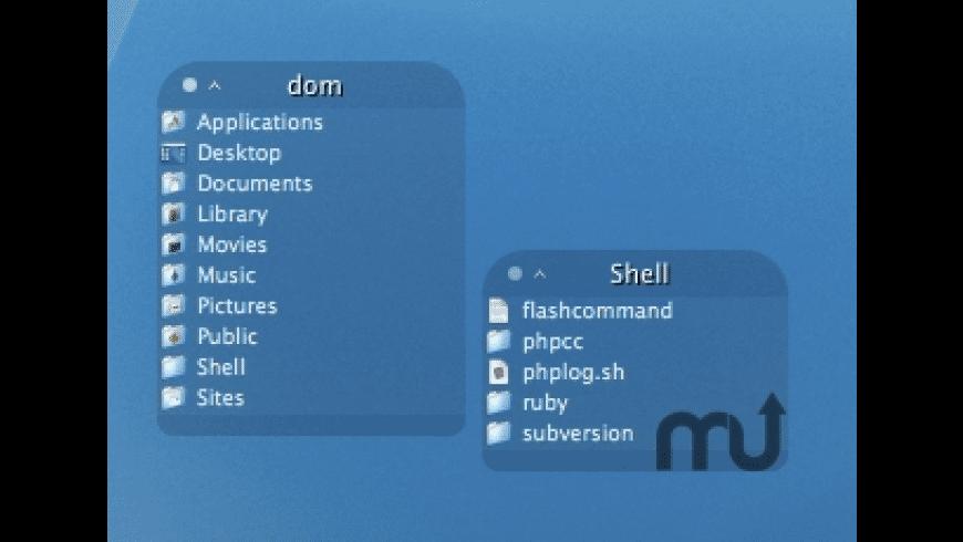 Backdrop Folders for Mac - review, screenshots