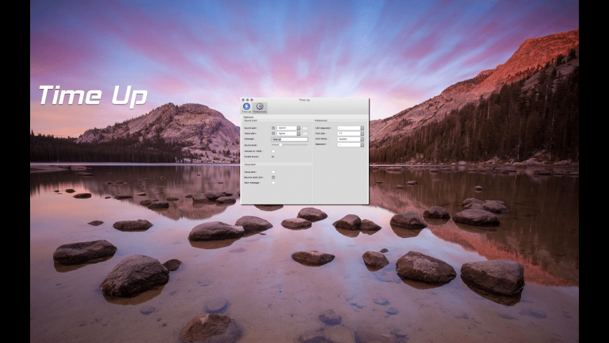 Time Up for Mac - review, screenshots