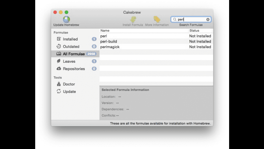 Cakebrew for Mac - review, screenshots