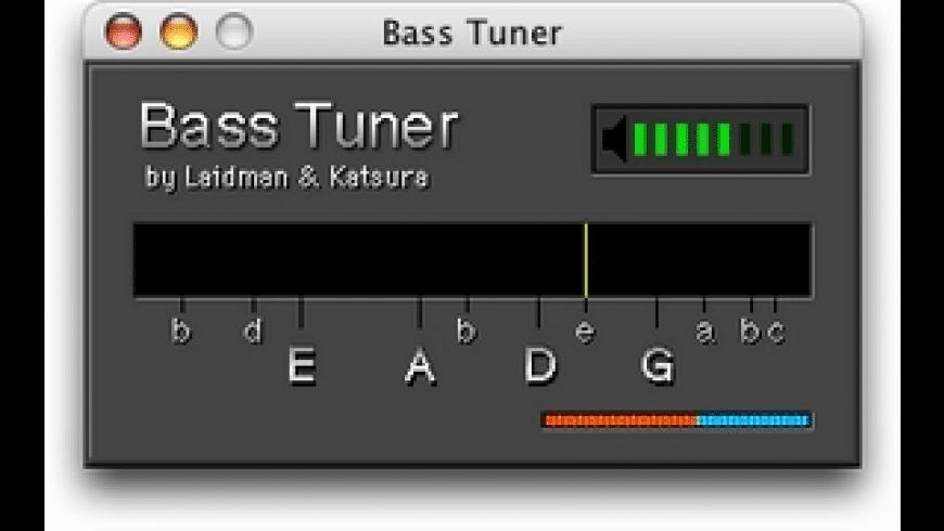 RK Bass Tuner for Mac - review, screenshots