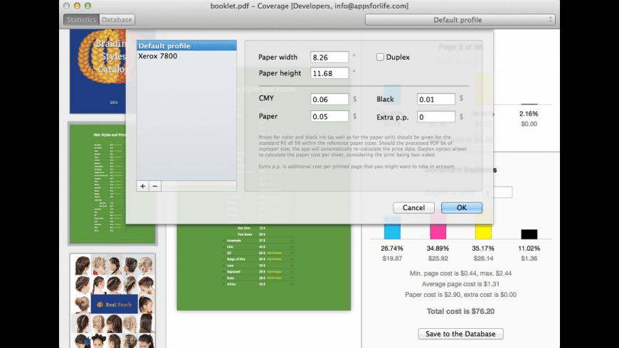 Coverage for Mac - review, screenshots