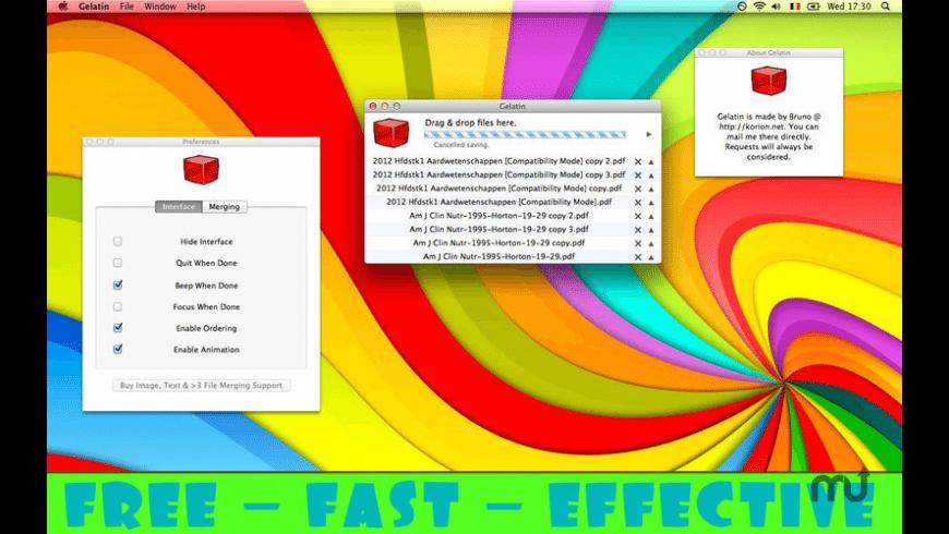Gelatin for Mac - review, screenshots
