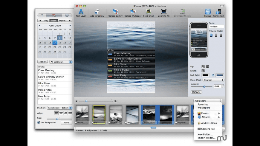 iMagePhone Pro for Mac - review, screenshots