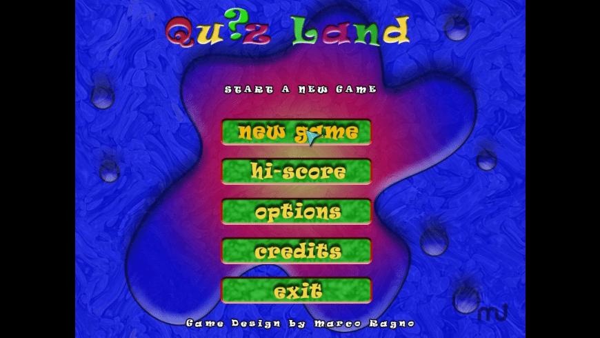 Quizland for Mac - review, screenshots