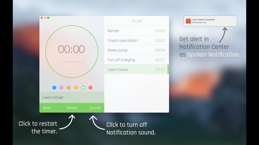 Pro Timer for Mac - review, screenshots