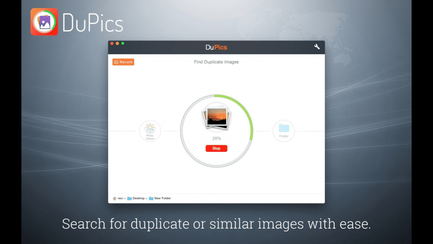 DuPics for Mac - review, screenshots