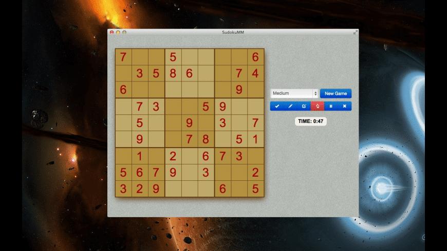 SudokuMM for Mac - review, screenshots
