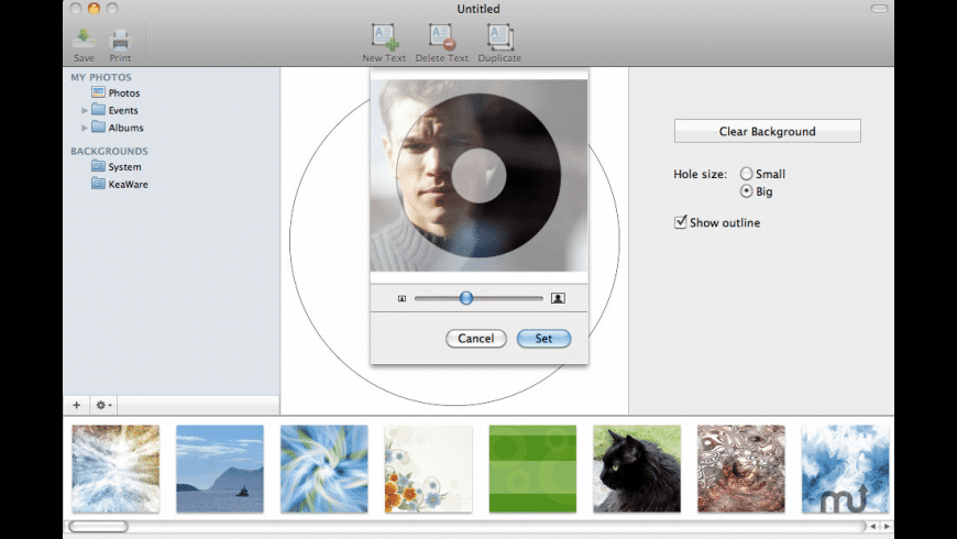 CD Labeler for Mac - review, screenshots