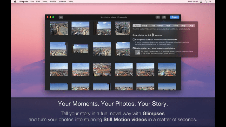 Glimpses for Mac - review, screenshots