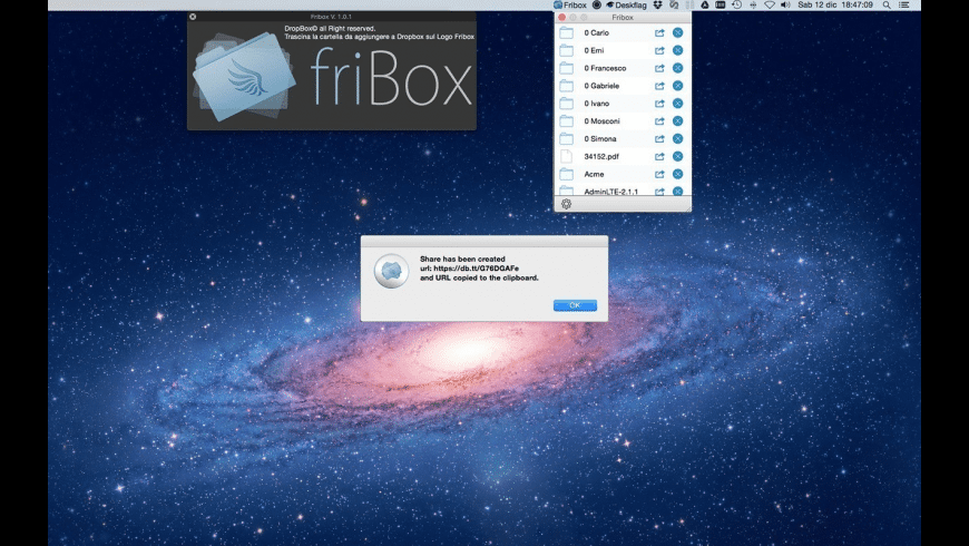 Fribox for Mac - review, screenshots