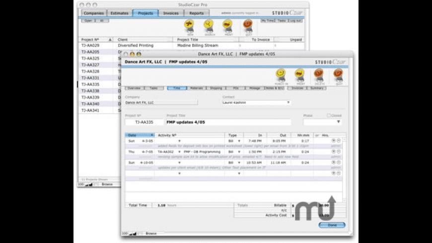 StudioCzar Pro for Mac - review, screenshots