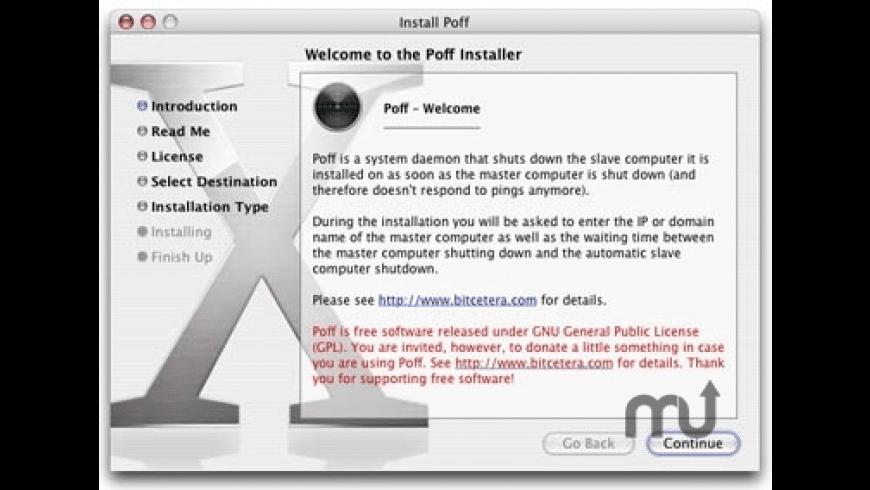 Poff for Mac - review, screenshots