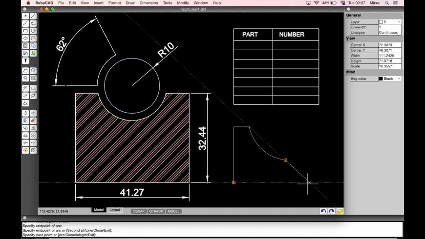 BabaCAD for Mac - review, screenshots