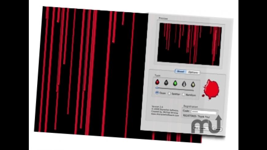 BloodSpotz Screensaver for Mac - review, screenshots
