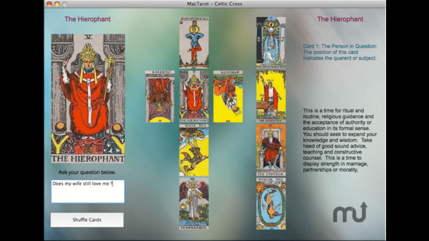 MacTarot for Mac - review, screenshots