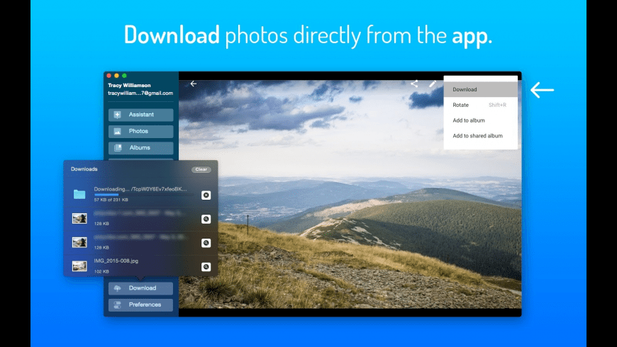 QuickPhotos for Google for Mac - review, screenshots