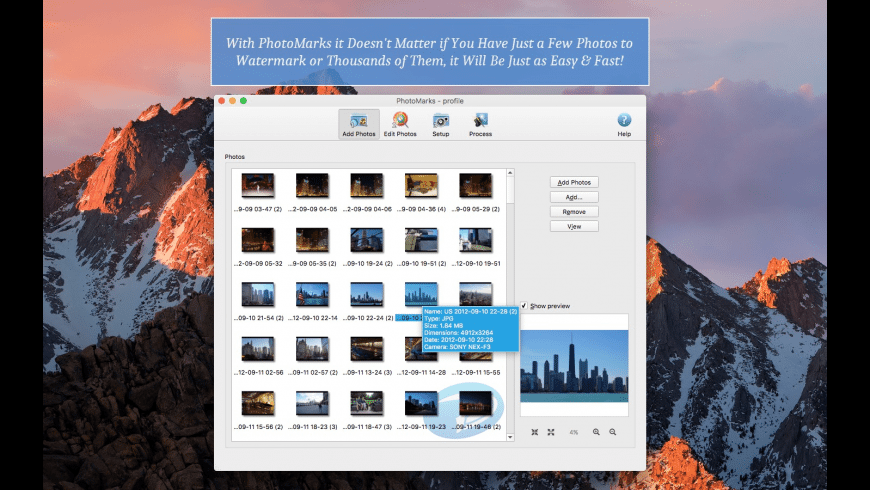 PhotoMarks for Mac - review, screenshots