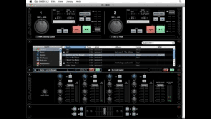 DJ-1800 for Mac - review, screenshots