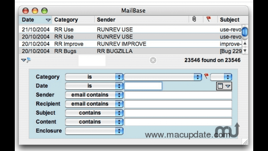 FastMailBase for Mac - review, screenshots
