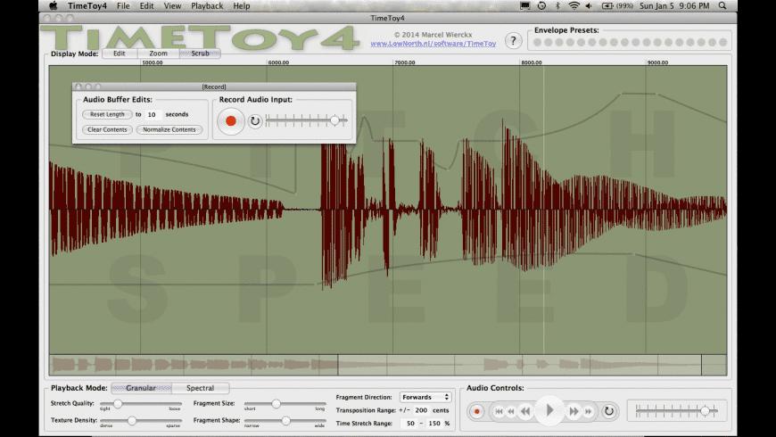 TimeToy4 for Mac - review, screenshots