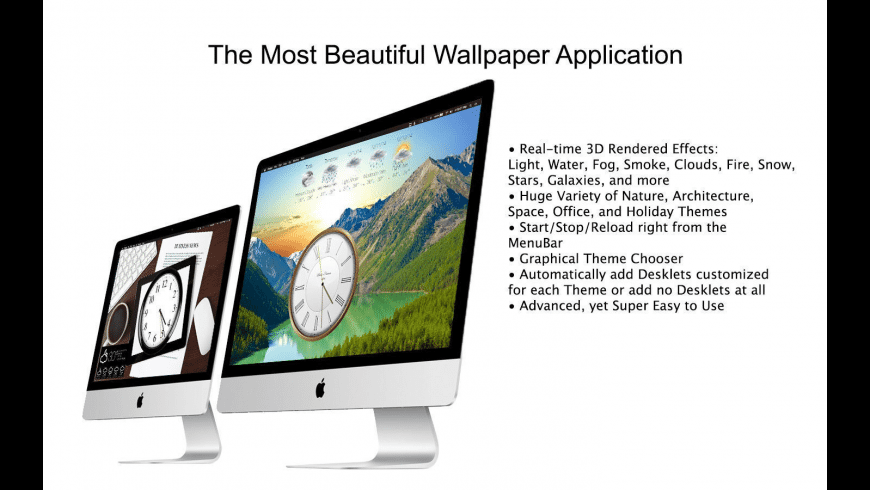 Mach Wallpaper for Mac - review, screenshots