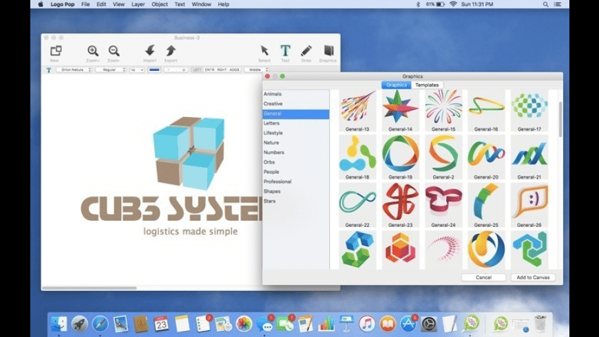 Logo Pop for Mac - review, screenshots