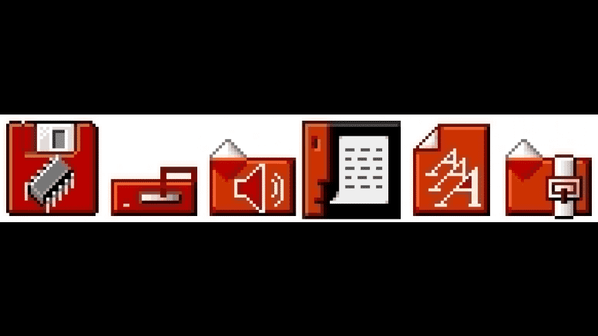 Too Red System Icons for Mac - review, screenshots