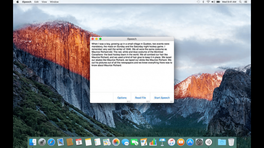 iSpeech for Mac - review, screenshots