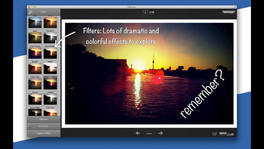 Filterator for Mac - review, screenshots