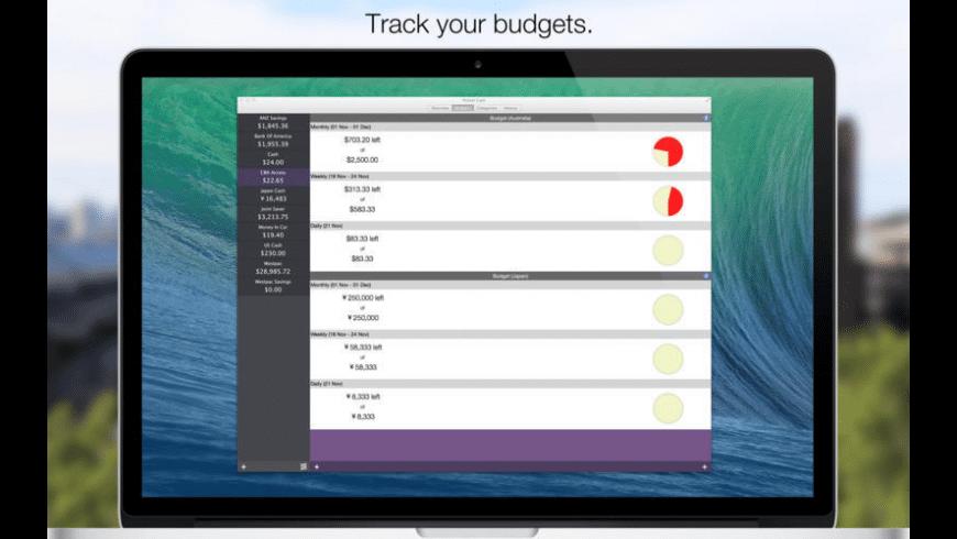 Pocket Cash for Mac - review, screenshots