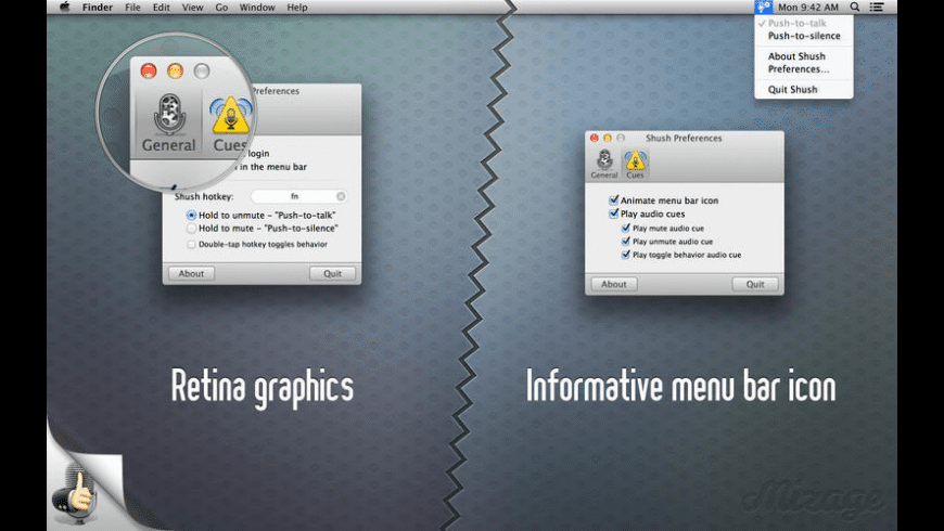 Shush for Mac - review, screenshots