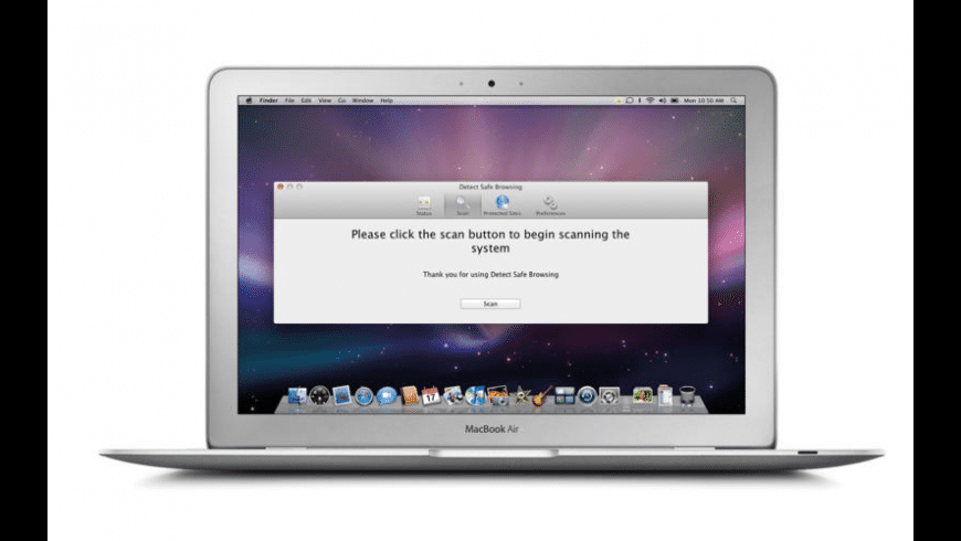 Detect Safe Browsing for Mac - review, screenshots