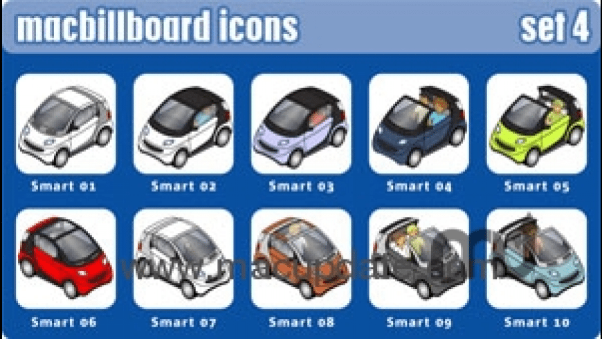 iRace Icons for Mac - review, screenshots