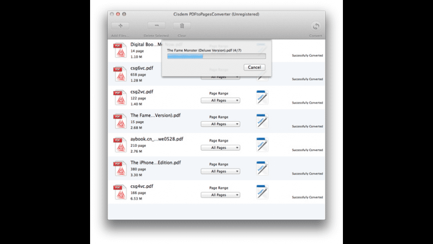 Cisdem PDFtoPagesConverter for Mac - review, screenshots