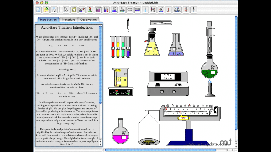 ChemLab for Mac - review, screenshots