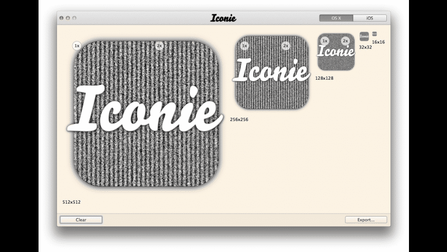Iconie for Mac - review, screenshots