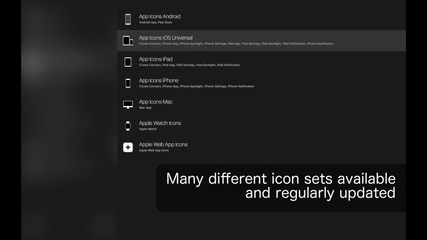 Icon Bot for Mac - review, screenshots