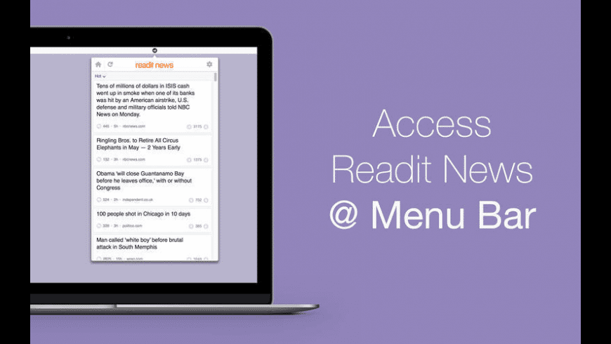 Readit News for Mac - review, screenshots