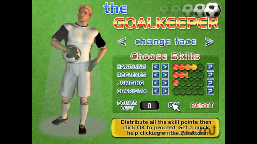 The Goalkeeper for Mac - review, screenshots
