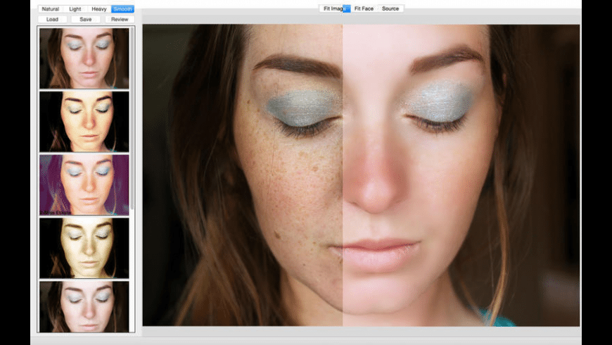 Portrait Retouching for Mac - review, screenshots