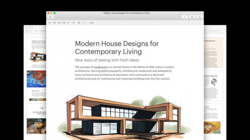 Author for Mac - review, screenshots