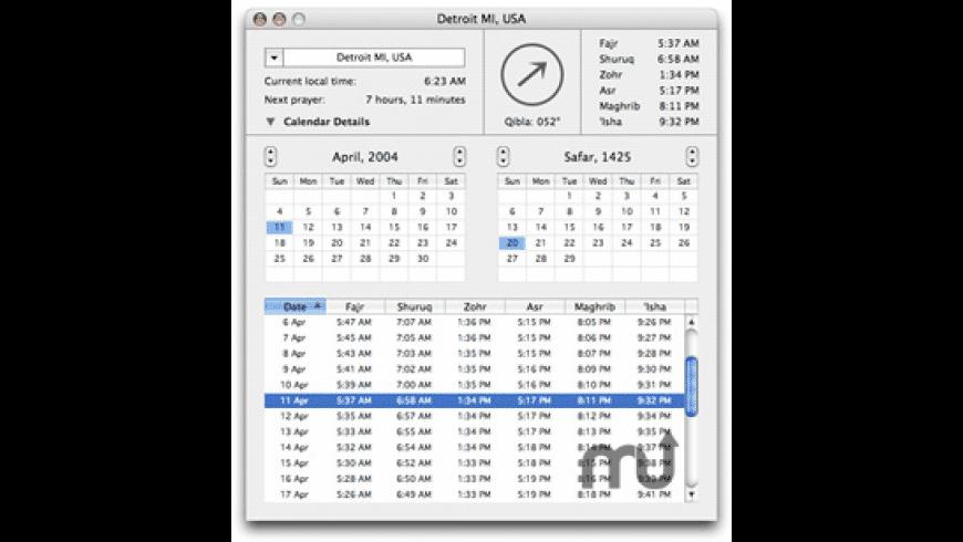 MacQibla for Mac - review, screenshots