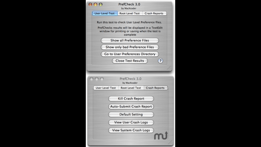 PrefCheck for Mac - review, screenshots