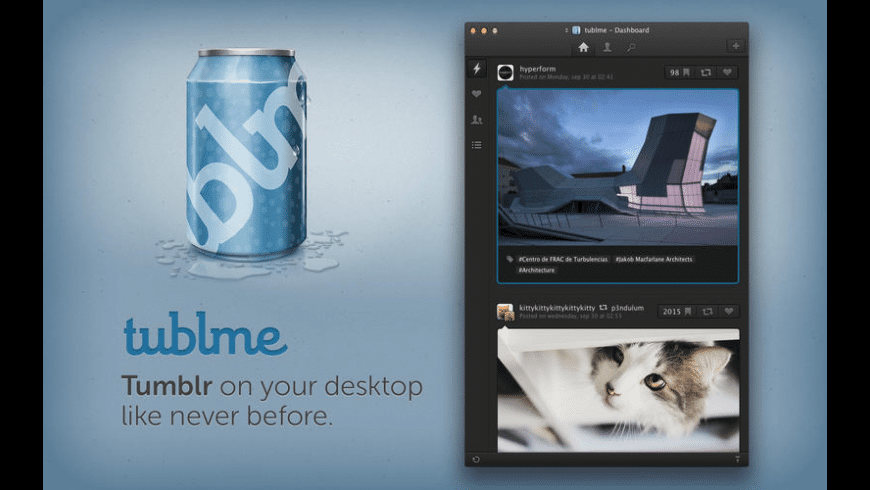 Tublme for Mac - review, screenshots