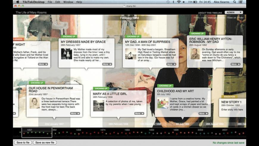 TikiToki Desktop for Mac - review, screenshots